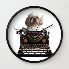 Top Model Paul Shih tzu Dog - Author Wall Clock
