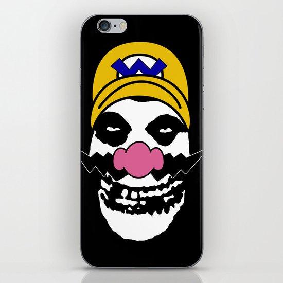 Misfit Wario iPhone Skin