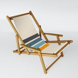 Vintage Retro Stripes Sling Chair