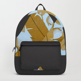 Tropical Leaves & Geometry Backpack