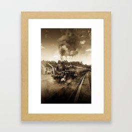 Nostalgic Journey Framed Art Print