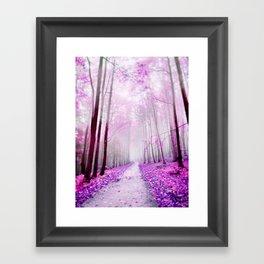 pink dreaming Framed Art Print