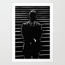 Suited Up Art Print
