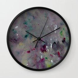 Violet Daydream Wall Clock