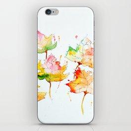 Leaves of Change iPhone Skin