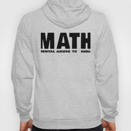 Maths Abbreviation Students Uni Sarcasm Gift Hoody