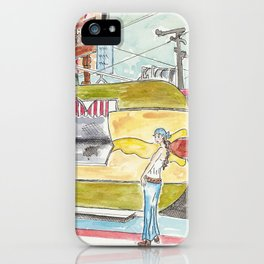 Los Angeles Hot Dog Stand iPhone Case