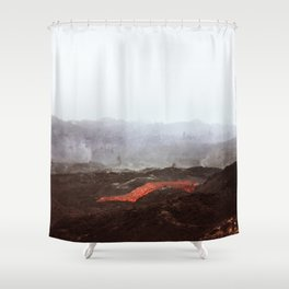 Magma Shower Curtain