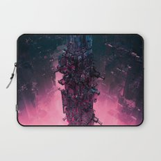 The Technocore / 3D render of futuristic structure Laptop Sleeve