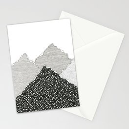 Snow Mountains Stationery Cards