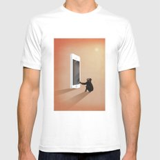 Smartphone revolution White MEDIUM Mens Fitted Tee