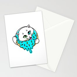 Donut Puss Stationery Cards