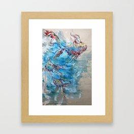 Like Water Framed Art Print