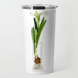 Paperwhite Bulb Travel Mug