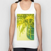 golden Tank Tops featuring Golden by Olivia Joy St.Claire - Modern Nature / T