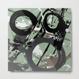 Enso Groove F by Kathy Morton Stanion Metal Print