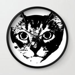 Cash Meow Side Wall Clock