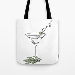 Olive Tote Bag