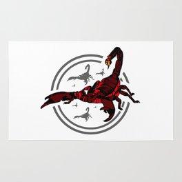 Red Scorpion 2 Rug