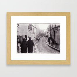 deux Framed Art Print