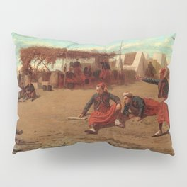 Pitching Quoits - Digital Remastered Edition Pillow Sham