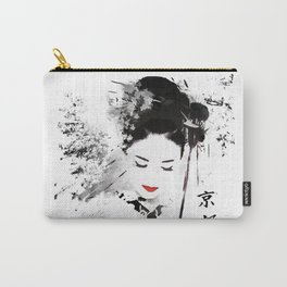 Kyoto Geisha Carry-All Pouch