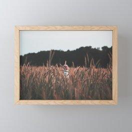 Fuck Off - Middle Finger  Framed Mini Art Print