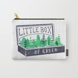 Lil Box of Green Carry-All Pouch
