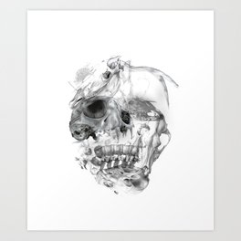 Meanin of life Art Print