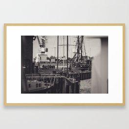 Hafen Wismar Framed Art Print