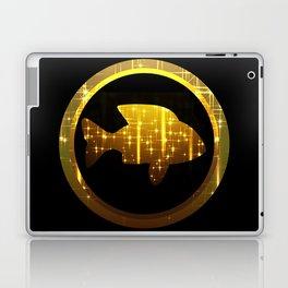 golden fish, make a wish Laptop & iPad Skin