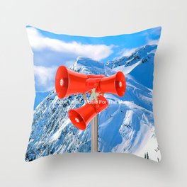 "DM ""Music For The Masses"" Throw Pillow"