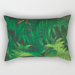 Leaf jungle Rectangular Pillow