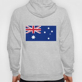 The National flag of Australia, authentic version (color & scale 1:2) Hoody