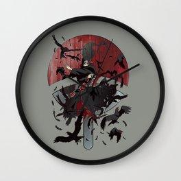 Itachi Uchiha Jutsu Wall Clock