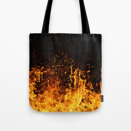 Hot Stuff / Let it burn Tote Bag