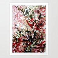 magnolia Art Prints featuring Magnolia by ART de Luna