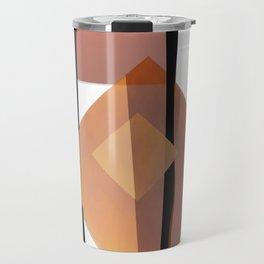 Mediterranean orange 2 of 3 Travel Mug
