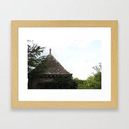 Italian Garden at Glamis Castle Framed Art Print