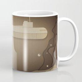 Submarine under Water Coffee Mug