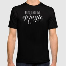 Magic #2 SMALL Mens Fitted Tee Black