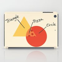 college iPad Cases featuring A College Venn Diagram by Brandon Ortwein