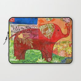 Contemplate with the Heart Laptop Sleeve