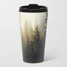 Sunrise Forest Metal Travel Mug