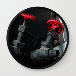 Fragments of Time: Iron Horse Series No. 013 Wall Clock