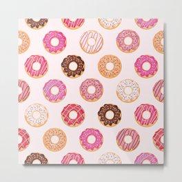 Pink Doughnuts Metal Print