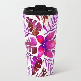 Tropical Symmetry – Magenta Travel Mug