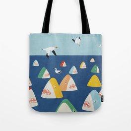 Shark Park Tote Bag