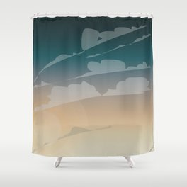 Endless Sky Shower Curtain