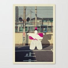 postcard from japan: kyoto#1 Canvas Print